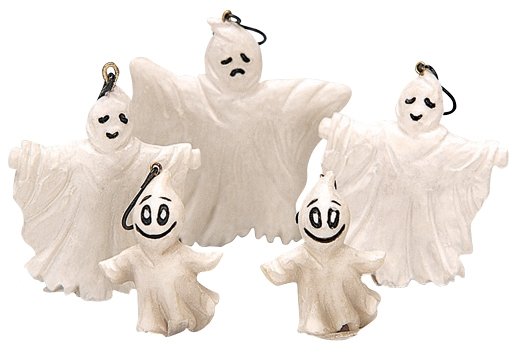 Halloween Tree Decoration, Set Of 5 Lemax Village