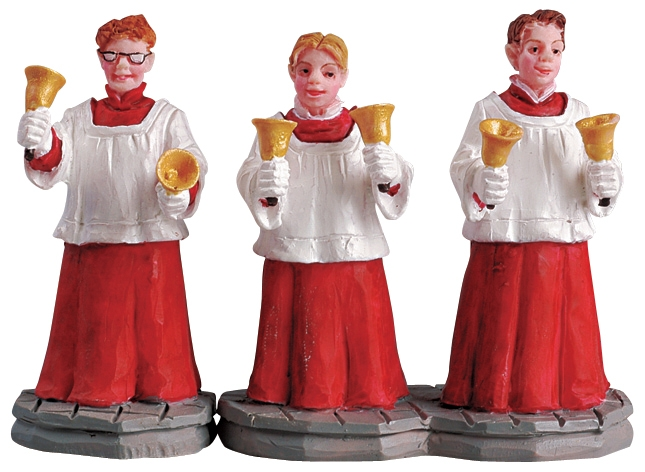 Handbell Choir, Set Of 2 Lemax Village