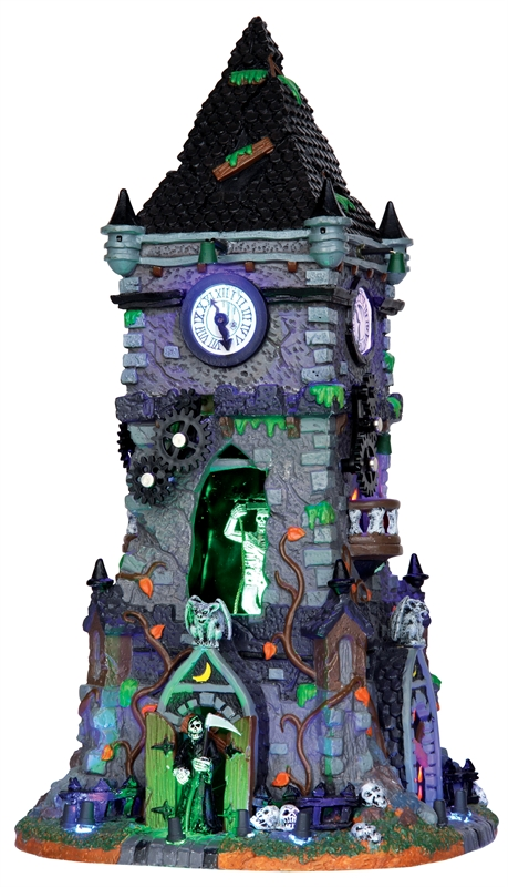Haunted Clock Tower Lemax Village