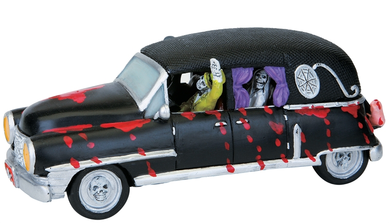 Haunted Hearse Lemax Village
