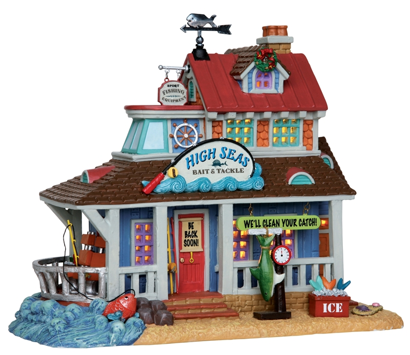 High Seas Bait & Tackle Lemax Village