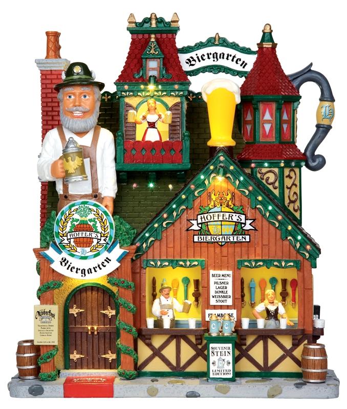 Hoffer's Biergarten Lemax Village
