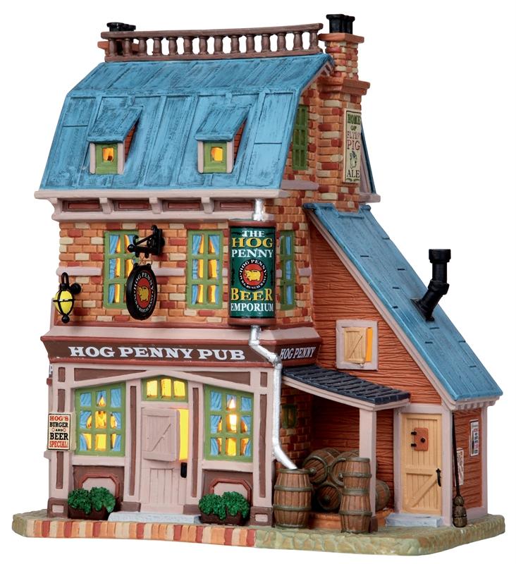 Hog Penny Pub Lemax Village