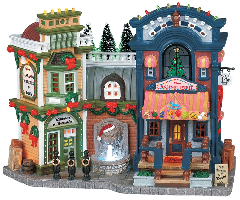 Holiday Treasures Christmas Shops Lemax Village