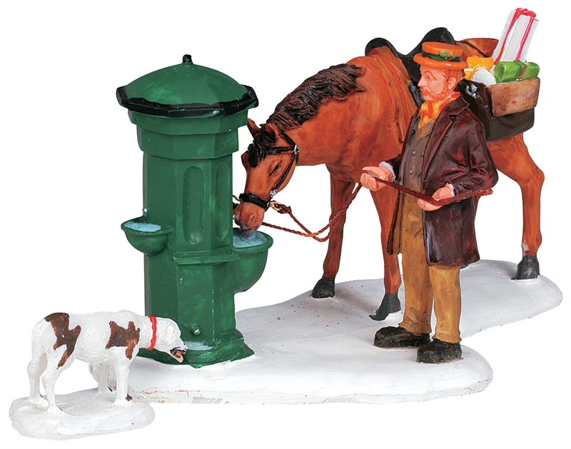 Horse Trough, Set Of 2 Lemax Village