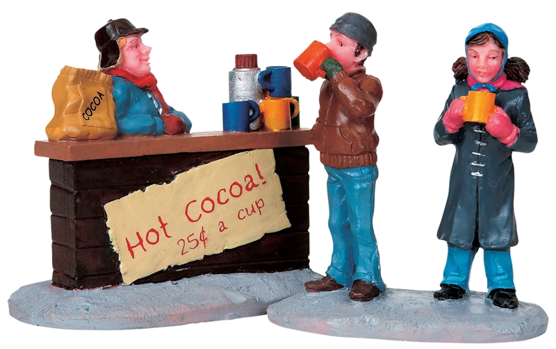 Hot Chocolate Stand, Set Of 2 Lemax Village