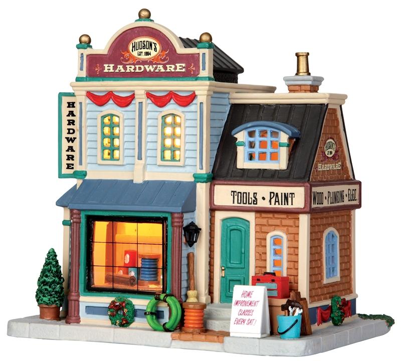 Hudson's Hardware Lemax Village