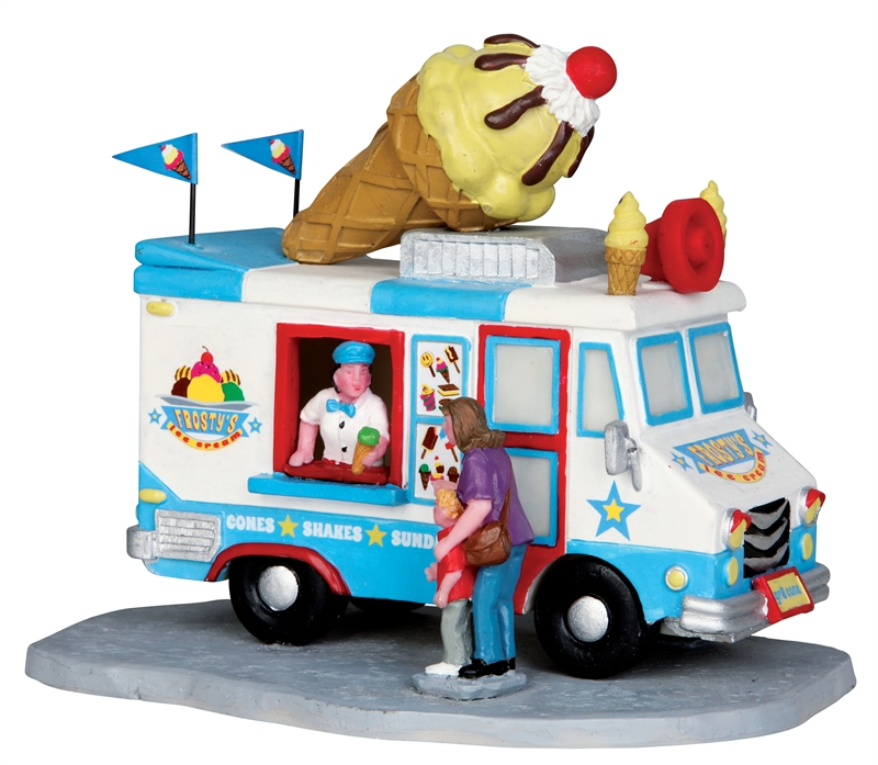 Ice Cream Truck Lemax Village