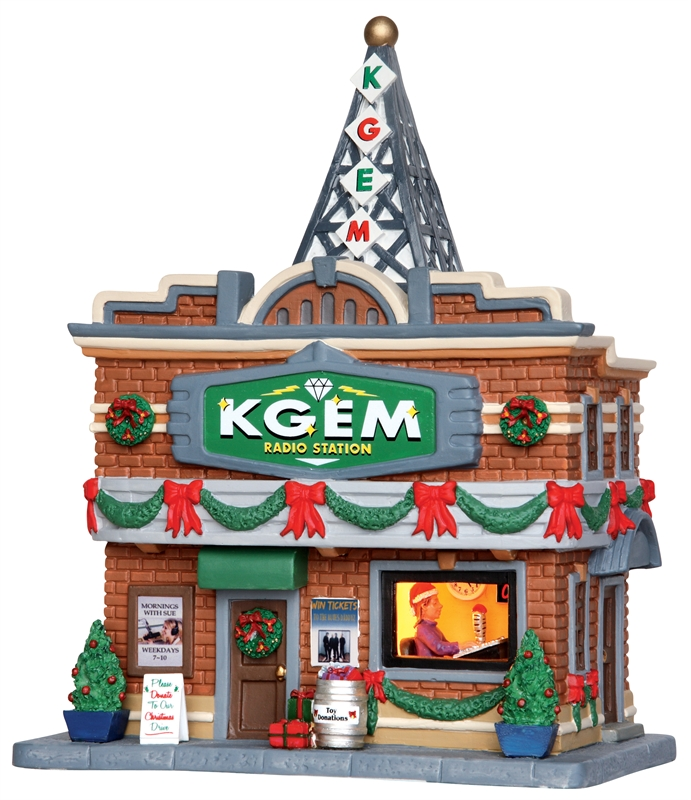 Kgem Radio Station Lemax Village