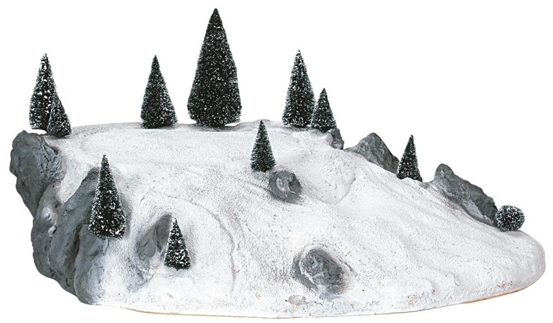 Large Ski Platform Lemax Village