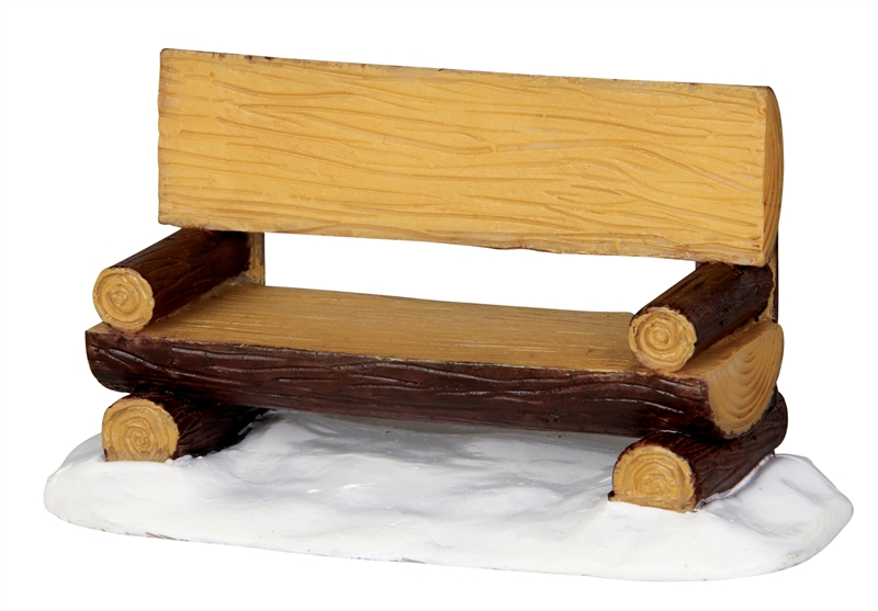 Log Bench Lemax Village