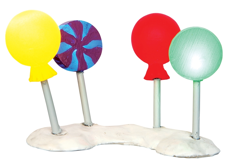 Lollipop Lights Lemax Village