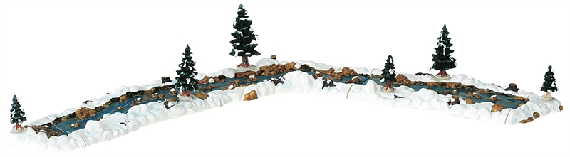 Mill Stream, Set Of 11 Lemax Village