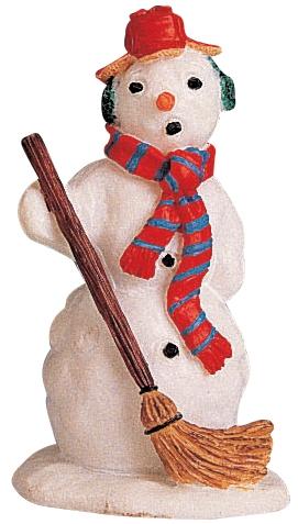 Mister Snowman Lemax Village