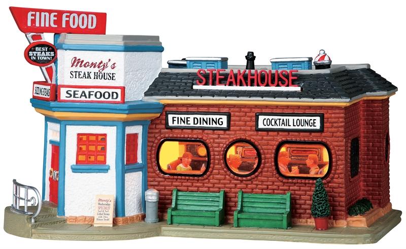 Monty's Steak House Lemax Village