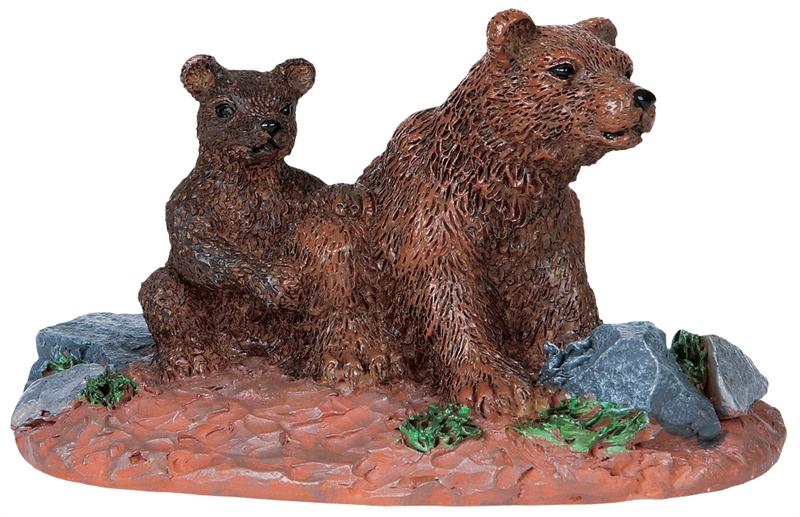 Mother Bear Lemax Village