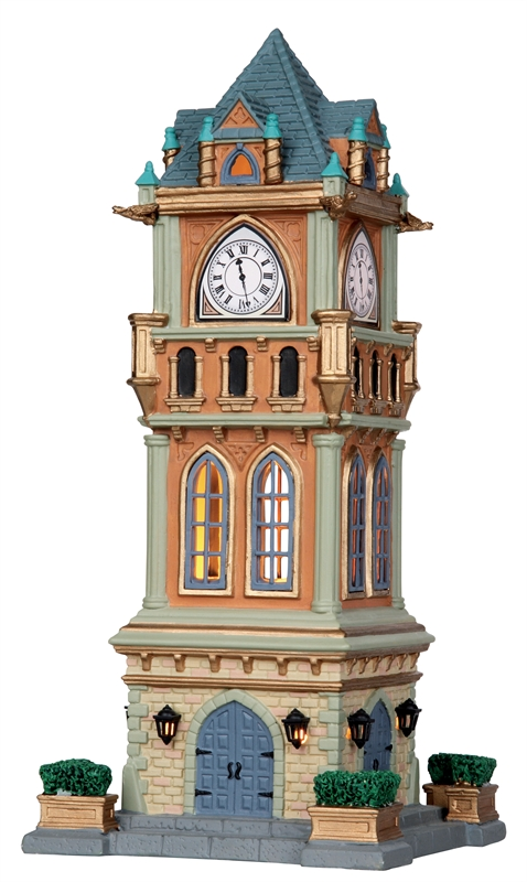 Municipal Clock Tower Lemax Village