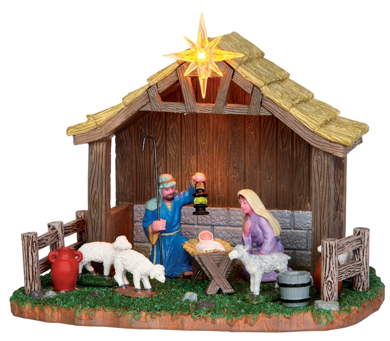 Nativity Scene Lemax Village