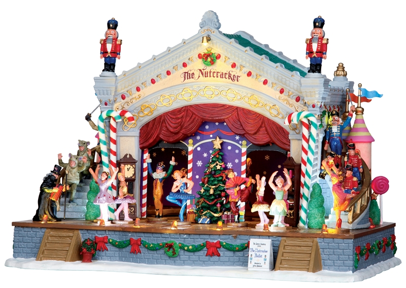Nutcracker Suite, Set Of 7 Lemax Village