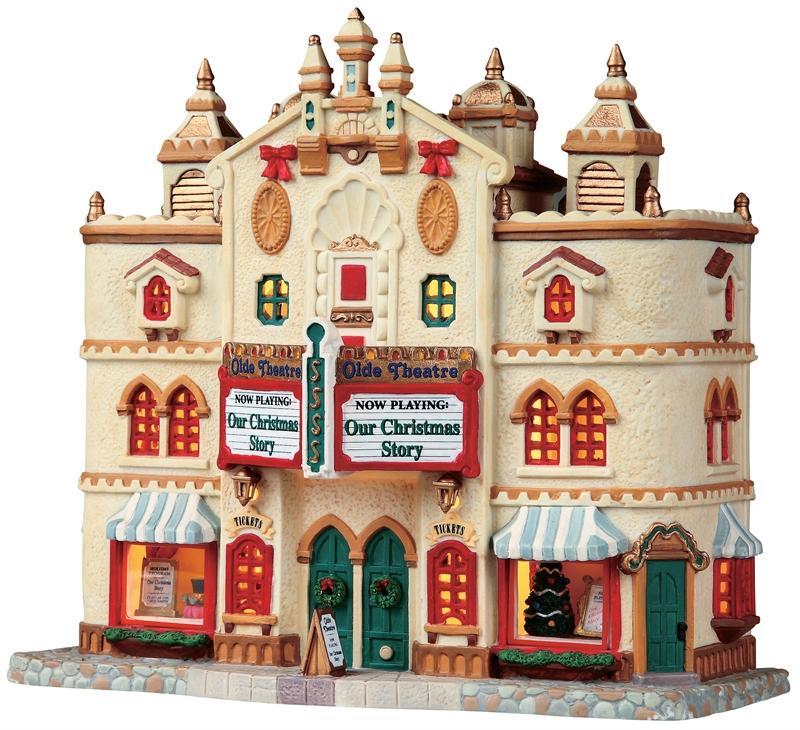 Olde Theatre Lemax Village