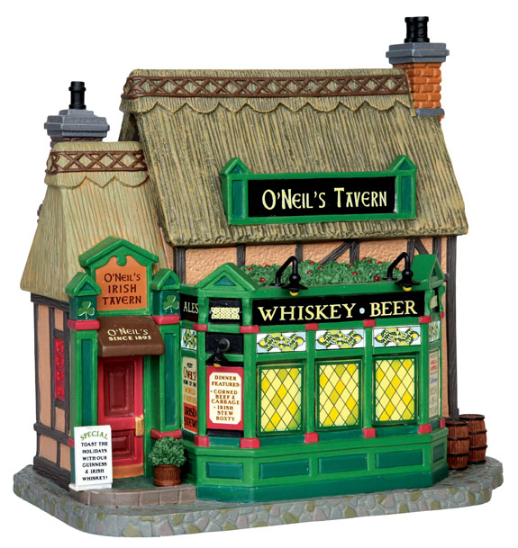 O'neil's Irish Tavern Lemax Village