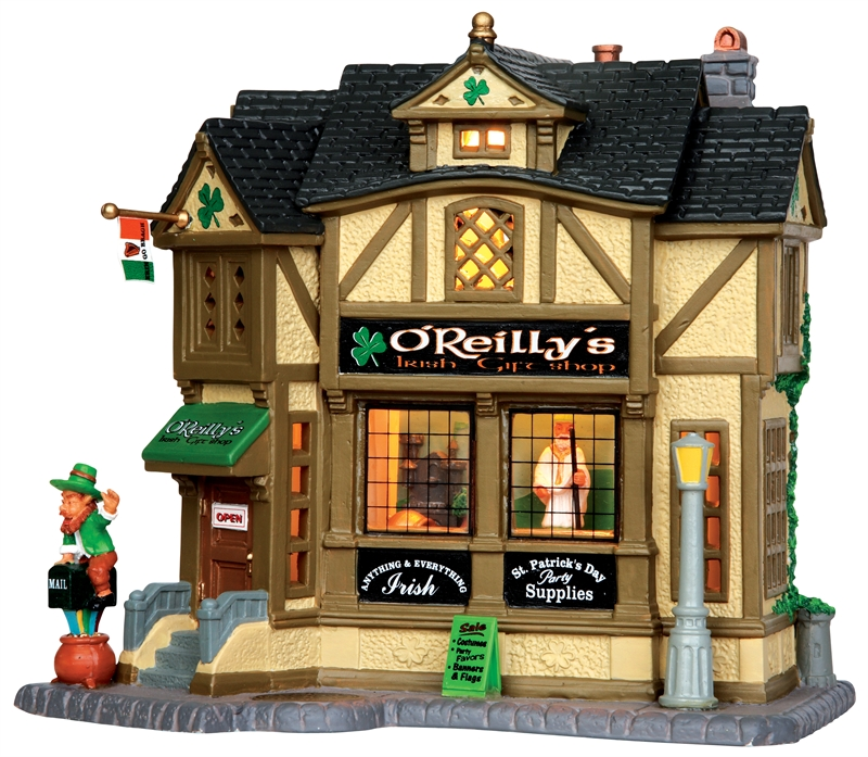 O'reilly's Irish Gift Shop Lemax Village