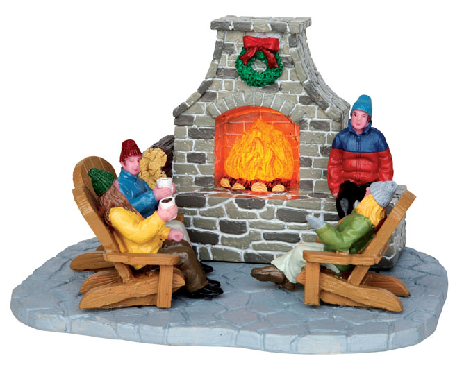 Outdoor Fireplace Lemax Village