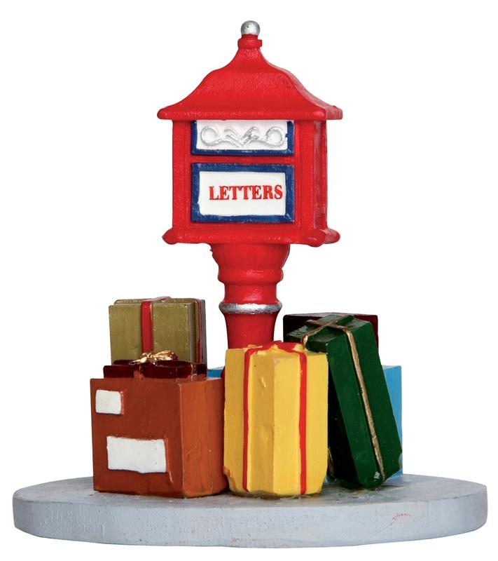 Overloaded Mailbox Lemax Village