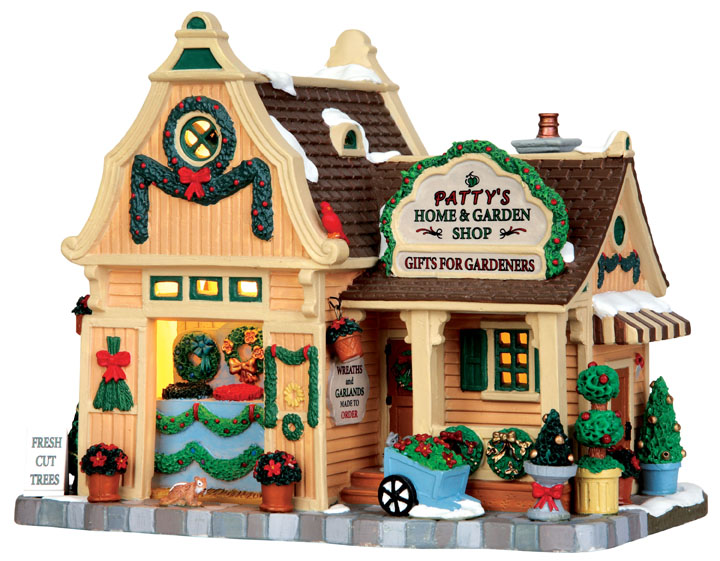 Patty's Home & Garden Shop Lemax Village