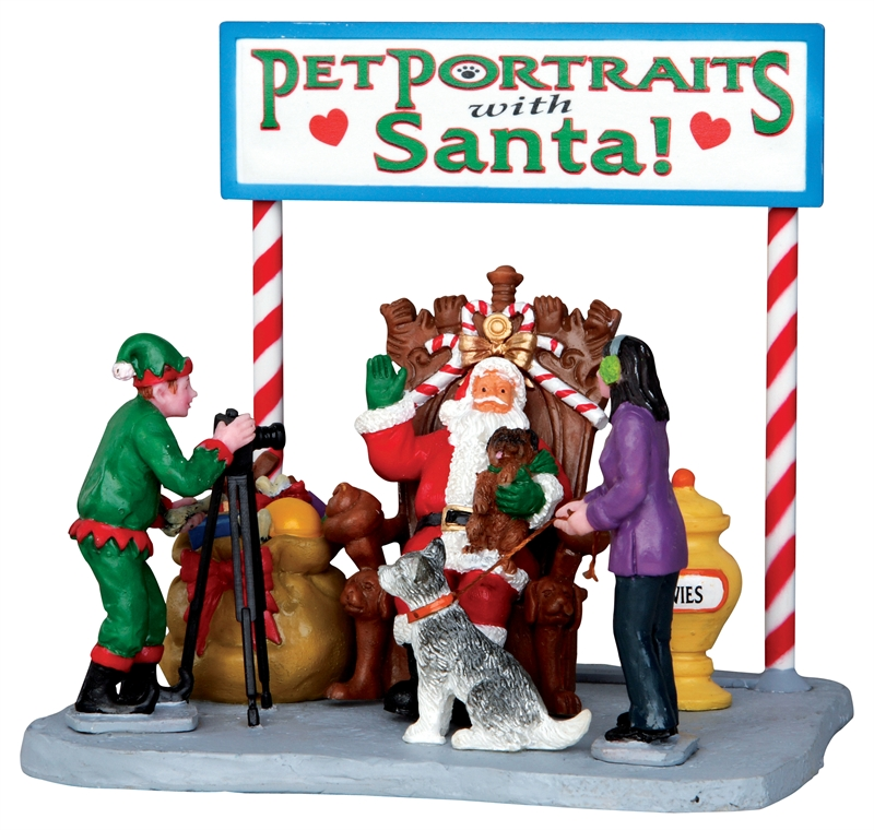 Pet Photos With Santa Lemax Village