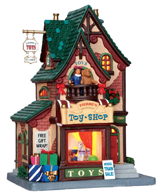 Pierre's Toy Shop Lemax Village