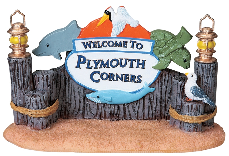 Plymouth Welcome Lemax Village