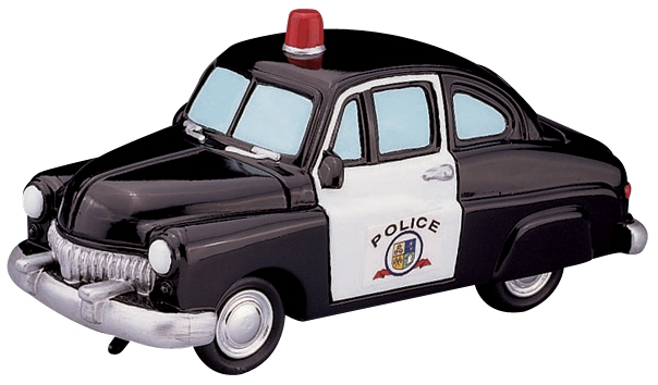 Police Squad Car Lemax Village