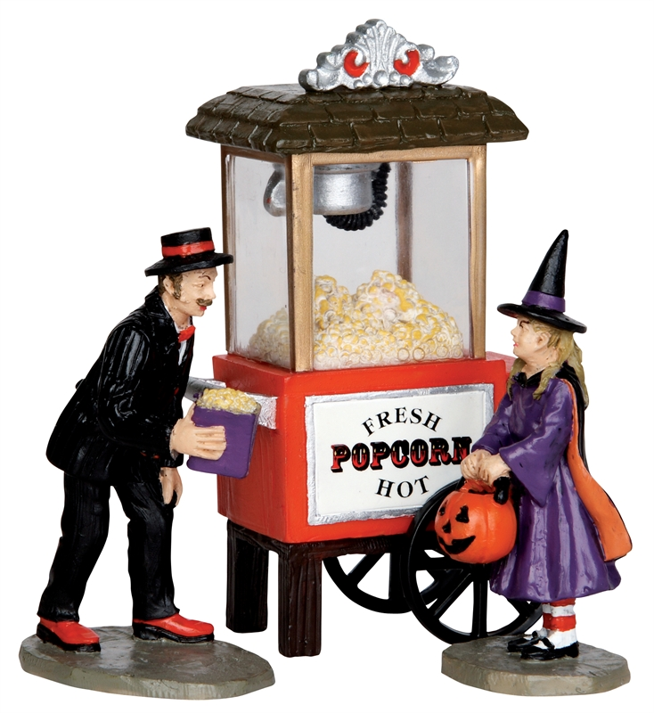 Popcorn Treats, Set Of 3 Lemax Village