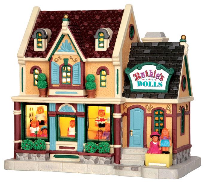 Ruthie's Dolls Lemax Village