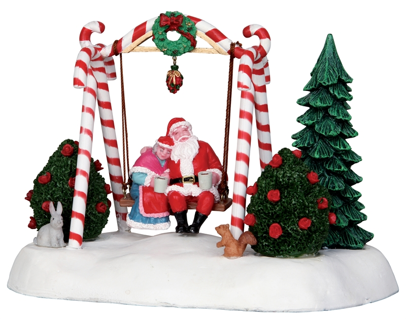 Santa Swing Lemax Village
