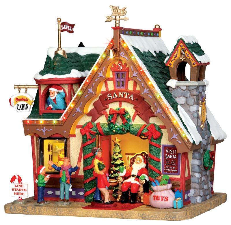Santa's Cabin Lemax Village