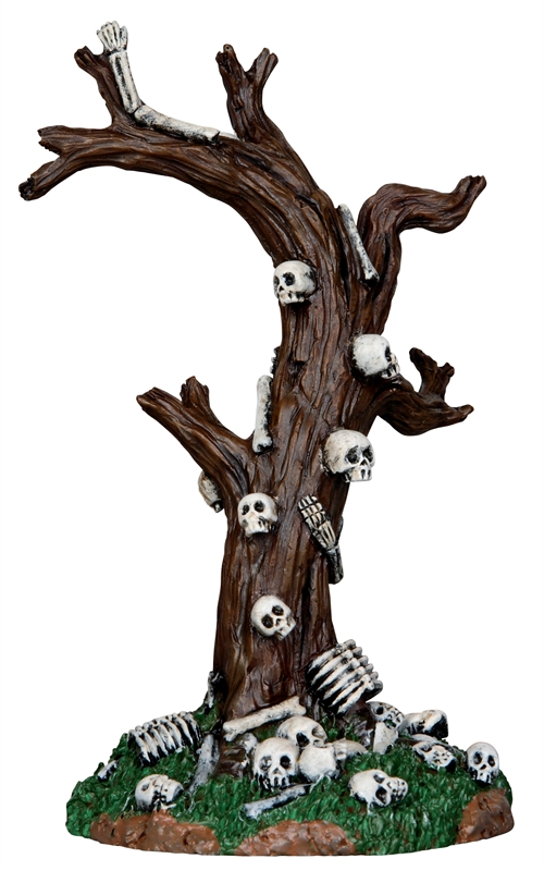 Skeleton Tree Lemax Village