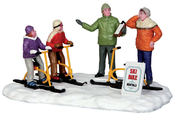Ski Bike Rentals Lemax Village