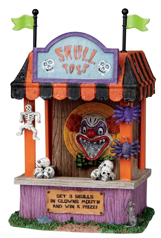 Skull Toss Lemax Village