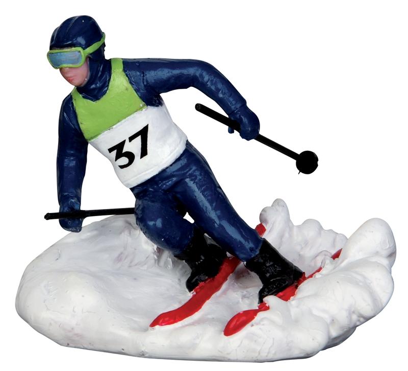 Slalom Racer Lemax Village