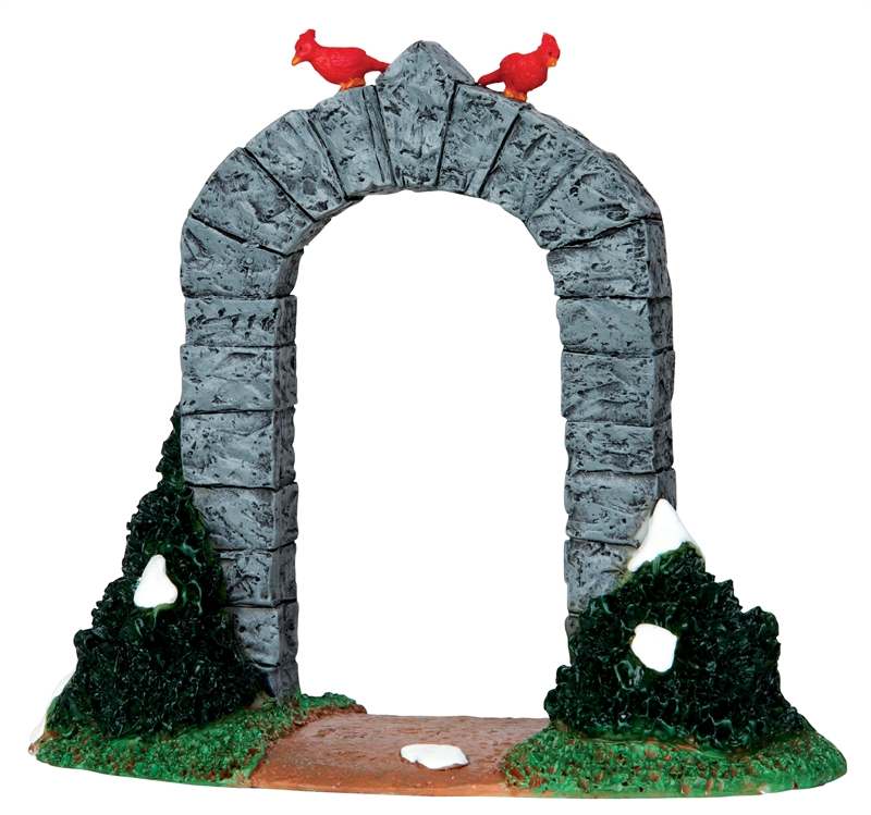Small Stone Archway Lemax Village