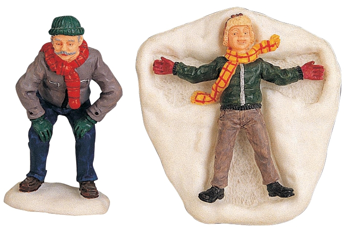 Snow Angel, Set Of 2 Lemax Village