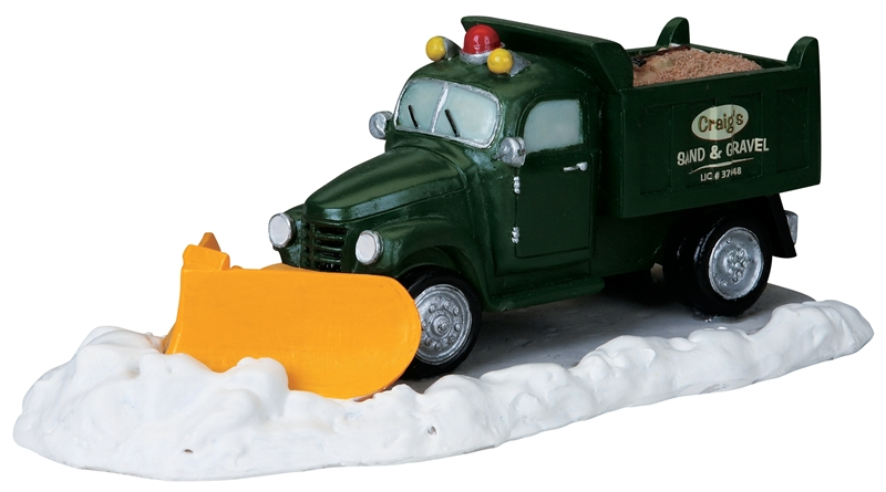 Snowplow Lemax Village