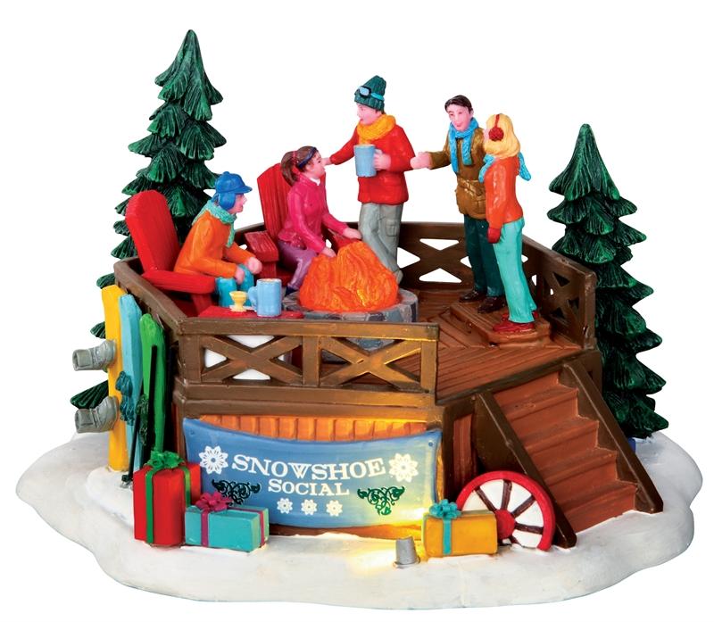 Snowshoe Social Lemax Village
