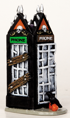 Spooky Phonebooth Lemax Village