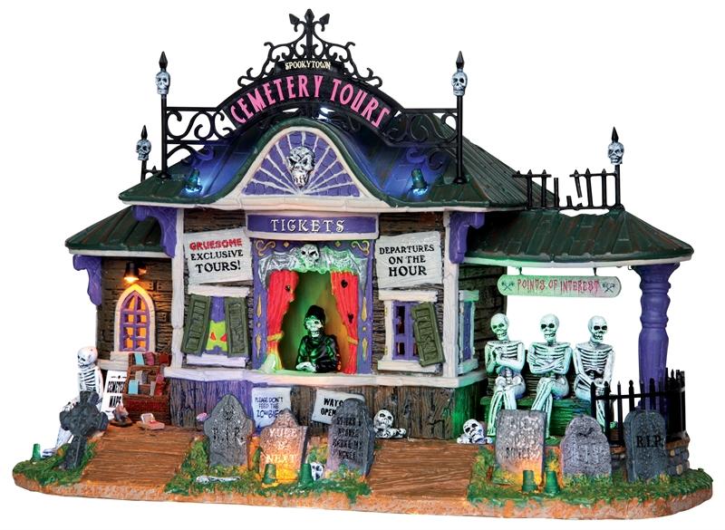 Spooky Town Cemetery Tours Lemax Village