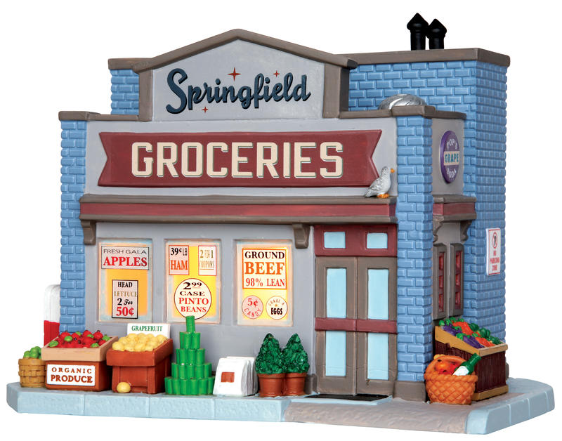 Springfield Groceries Lemax Village