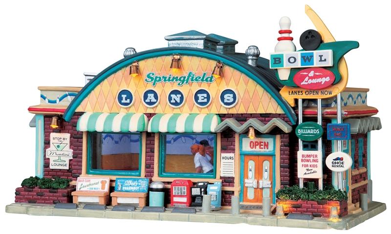 Springfield Lanes Lemax Village