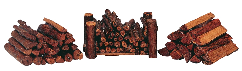 Stacked Firewood, Set Of 3 Lemax Village